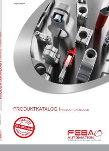 2016 PRODUKTKATALOG PRODUCT CATALOGUE