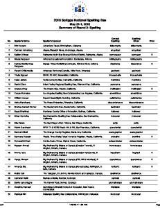2016 Scripps National Spelling Bee