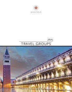 2016 TRAVEL GROUPS 1