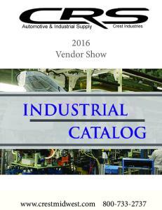 2016 Vendor Show.  (800)
