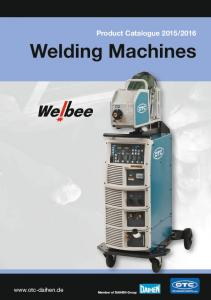 2016 Welding Machines