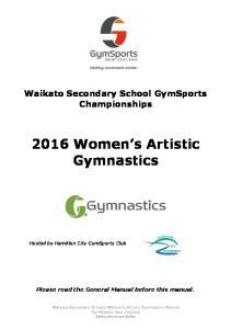 2016 Women s Artistic Gymnastics
