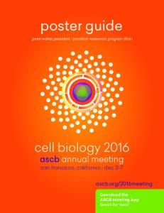2016meeting Download the ASCB Meeting App