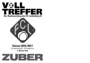 2017 FC Lindenberg 07 FC Leutkirch II 2. Oktober 2016