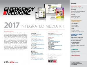 2017 INTEGRATED MEDIA KIT