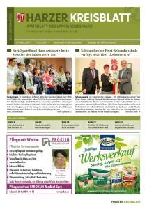 2017 kostenlos an die Haushalte Auflage Exemplare. Seite 16