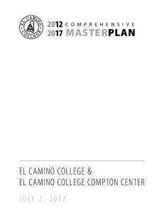 2017 MASTERPLAN EL CAMINO COLLEGE & EL CAMINO COLLEGE COMPTON CENTER
