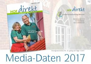 2017. Media-Daten 2017