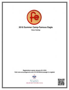 2018 Summer Camp-Famous Eagle