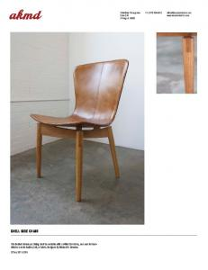 2044 West Chicago Ave. Suite 190 Chicago IL SHELL SIDE CHAIR