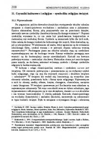 208 MONOGRAFIE BIESZCZADZKIE 15 (2014)