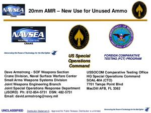 20mm AMR New Use for Unused Ammo
