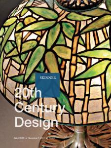 20th Century Design. Sale 2692B December 7, 2013 Boston