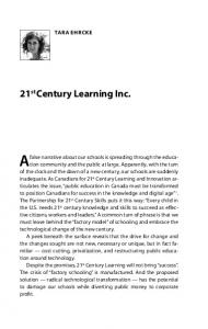 21 st Century Learning Inc