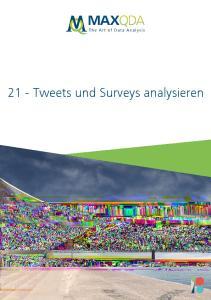 21 - Tweets und Surveys analysieren