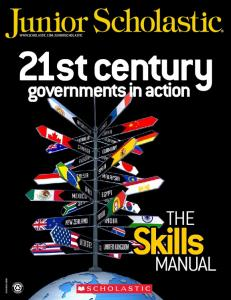 21st century governments in action the Skills Manual ISSN