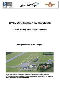22 nd FAI World Precision Flying Championship