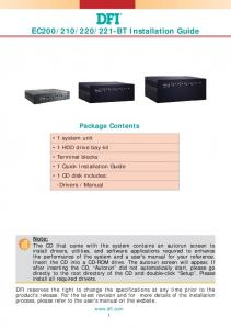 221-BT Installation Guide