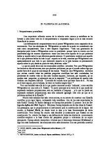 23. FILOSOFIA DE LA CIENCIA