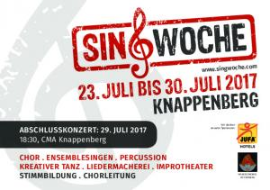 23. JULI BIS 30. JULI 2017 KNAPPENBERG