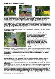 23. Mai Everyman Triathlon