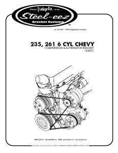 235, CYL CHEVY