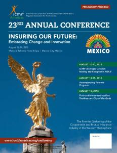 23RD ANNUAL CONFERENCE