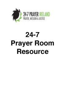24-7 Prayer Room Resource
