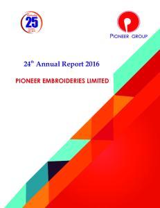 24 Annual Report 2016