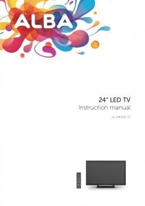 24 LED TV Instruction manual