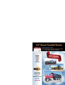 24 th Annual Snowball Auction