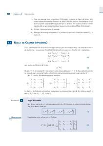 2.5 REGLA DE CRAMER (OPCIONAL)