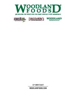25 th anniversary. WoodlandFoods.com