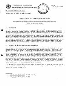 26 COORDINACION CON EL SISTEMA DE LAS NACIONES UNIDAS