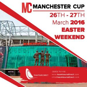 26TH - 27TH March 2016 EASTER WEEKEND