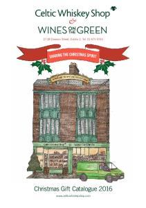 27-28 Dawson Street, Dublin 2, Tel Christmas Gift Catalogue