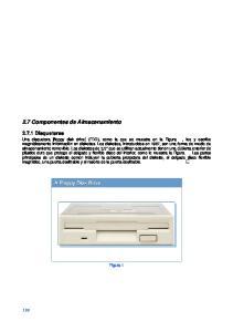 2.7 Componentes de Almacenamiento