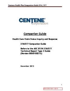 277 Companion Guide