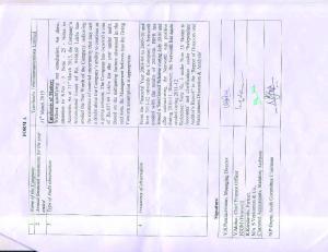 27th Annual Report Tamilnadu Telecommunications Limited