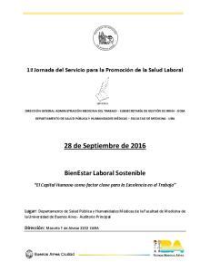 28 de Septiembre de 2016