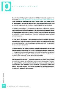 28 en las empresas de la ciudad de Barcelona