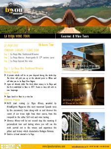3-DAYS TOUR. Day 1: La Rioja Alta: Traditional Wineries