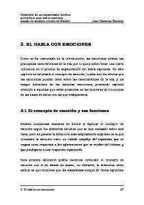 3. EL HABLA CON EMOCIONES