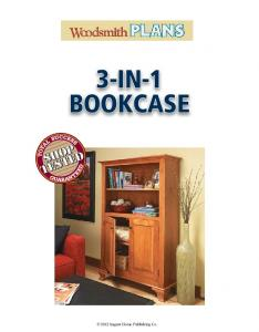 3-IN-1 BOOKCASE August Home Publishing Co