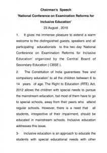3- Inclusive education is an approach to educate the students with special educational needs with other