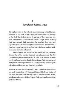 3 Levuka & School Days