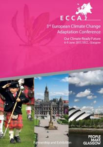 3 rd European Climate Change Adaptation Conference