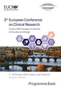 3 rd European Conference on Clinical Research