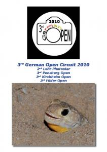 3 rd German Open Circuit nd Lohr Photostar 3 rd Penzberg Open 3 rd Kirchheim Open 3 rd Filder Open
