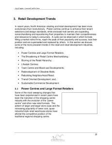 3. Retail Development Trends